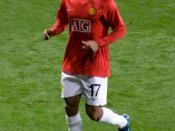 Portugese footballer Nani