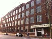 English: The headquarters of the Chattanooga Times Free Press newspaper in Chattanooga, Tennessee.