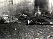 English: Turkish civilians massacred by Armenians in Bayburt