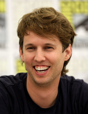 English: Jon Heder at the 2011 Comic Con in San Diego