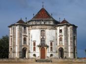 English: Sanctuary of Senhor Jesus da Pedra (Lord Jesus of the Stone), Óbidos, Portugal Français : L'église Senhor Jesus da Pedra (« Seigneur Jésus de la Pierre ») à Óbidos, Portugal