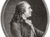 Anne Robert Jacques Turgot, one of the leading physiocrats.