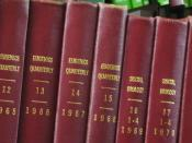 In the decades after World War II, eugenics became increasingly unpopular within academic science. Many organizations and journals that had their origins in the eugenics movement began to distance themselves from the philosophy, as when Eugenics Quarterly