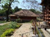 The Konni Elephant Training Centre near Pathanamthitta - A view of The premises