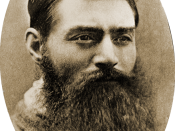 Ned Kelly the day before his execution