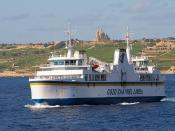 Ships that pass in the day; Gozo to Malta Ferry