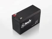 English: 12V 7.0Ah Lead-acid Battery.