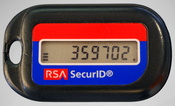 English: An older RSA SecurID token without USB connector Deutsch: Ein älteres RSA SecurID-Token ohne USB-Anschluß