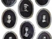 English: Gallery of famous Puritans: Thomas Gouge, William Bridge, Thomas Manton, John Flavel, Richard Sibbes, Stephen Charnock, William Bates, John Owen, John Howe, Richard Baxter and Dorothy Dear even though she isn't in the picture