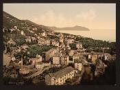 [General view, Nervi, Genoa, Italy] (LOC)