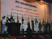 English: The African Students Convention 2005 (ASC) was the first official gathering of African Government delegates and African students in Malaysia to discuss issues pertinent to the future of African youths