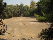 English: Plato's Academy Archaeological Site in Akadimia Platonos subdivision of Athens, Greece.