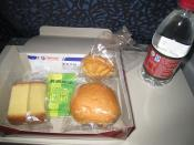 English: China Eastern Airlines - Snack box