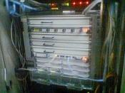 Cisco Systems Gigabit Switch Router.