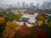 English: Deoksugung palace in Seoul, South korea.