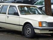 English: 1980–1981 Holden VC Commodore L station wagon, photographed in Miranda, New South Wales, Australia.