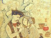 Shah Abbas in later life with a page. By Muhammad Qasim (1627). Nahavandi and Bomati, illustration opposite p.162
