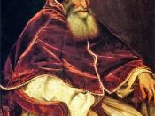 Cardinal Alessandro Farnese became new Pope Paul III