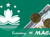 English: Macau Economy Pic.