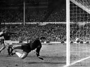 Geoff Hurst's controversial second goal during the 1966 FIFA World Cup Final is still not known to have crossed the goal line or not.