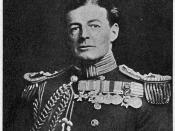 Rear Admiral David Beatty of the Royal Navy.