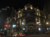 English: Driskill Hotel in Austin, TX, at night
