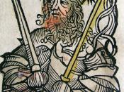 Attila in the Nuremberg Chronicle (1493)