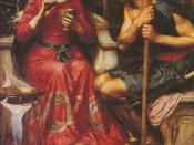 English: Jason and Medea by John William Waterhouse.