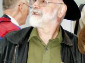 Terry Pratchett at Worldcon 2005 in Glasgow, August 2005. Picture taken by Szymon Sokół.