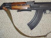 English: This is the semi-automatic civilian version of the Yugoslavian Zastava M70AB2, built by Century Arms International. Polski: Produkowna przez Century Arms International samopowtarzalna kopia karabinu Zastava M70AB2