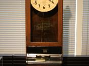 Surely much to the chagrin of employees worldwide, the first workplace timecard system was created by the International Time Recording Company. They would letter help form the basis for IBM.