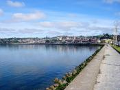 A view from the costanera to the Chilean city Puerto Montt