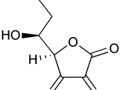 Structure of dehydroascorbic acid with Mono- and Dihydrate