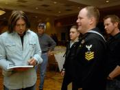 Billy Ray Cyrus gives the U.S. Navy a visit.