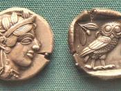 Early Athenian Coin, an