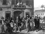 English: Slave market in Rio de Janeiro, Brazil.