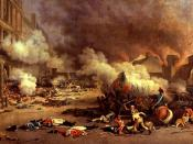 On 10 August 1792 the Paris Commune stormed the Tuileries Palace and massacred the Swiss Guards