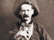English: Screenshot from The Great Train Robbery (1903)