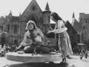 English: A still from the 1923 movie The Hunchback of Notre Dame, which is now in the public domain.