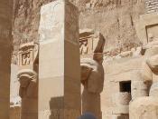 Hathor-Kapelle im Hatschepsut-Tempel