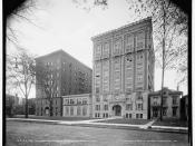 Hotel Madison-Lenox (demolished) from the Library of Congress