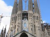 Sagrada Família church, Gaudi's masterpiece