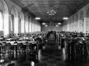 Malcolm Baldrige Great Hall, named for former Commerce Secretary Howard M. Baldrige, Jr.