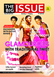 English: The cover of the 8th edition of The Big Issue Malawi Magazine