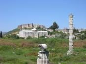 English: Temple of Artemis, Ephesus, Turkey