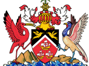 English: coat of arms of Trinidad and Tobago. Italiano: stemma di Trinidad e Tobago.