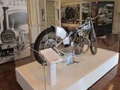 Bruce Castle Museum - J.A.P. bike