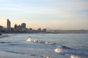 border 22x20px South Africa, Durban beach