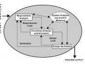 Requirements analysis is the first stage in the systems engineering process and software development process. Systems Engineering Fundamentals Defense Acquisition University Press, 2001