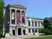 English: Museum of Fine Arts - Boston - Main entrance